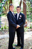Gay Wedding Couple - In Love royalty free stock images