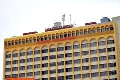Gaya Centre Hotel Facade in Kota Kinabalu, Malaysia. KOTA KINABALU, MY - JUNE 17: Gaya Centre Hotel facade on June 17, 2016 in Kota Kinabalu, Malaysia. Gaya stock images