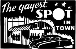 The Gayest Spot In Town 2 Stock Images