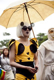 gaygay гордость taiwan парада lgbt повелительницы 2010 Стоковые Изображения RF