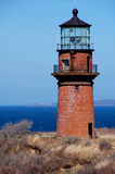 Gayhead Lighthouse on Cape Cod. Gayhead Lighthouse on Martha's Vineyard royalty free stock photo