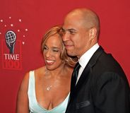 Gayle King e Cory Booker Fotos de Stock