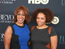 Gayle King and Kirby Bumpus Royalty Free Stock Photography