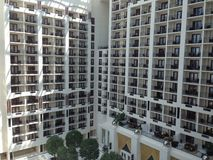 Gaylord National Harbor Balcony rooms Stock Photography