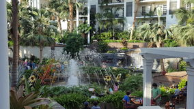 Gaylord Opryland Hotel royalty free stock photography