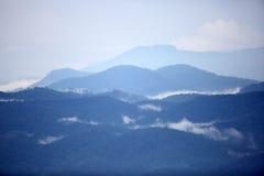 Gayo-Hochlandansicht von Aceh, Nord-Sumatra Stockbilder
