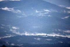 Gayo-Hochlandansicht von Aceh, Nord-Sumatra Lizenzfreies Stockfoto