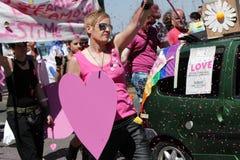 Gaypride 2011, Genève, Suisse Photo stock
