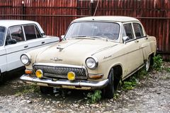 GAZ 21伏尔加河 库存图片