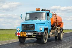 GAZ 3307 Στοκ Φωτογραφίες