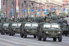 GAZ-2975 «Tiger» Stock Images