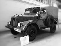 GAZ-69 免版税库存图片