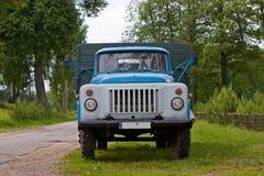Gaz-53 vrachtwagen Stock Foto