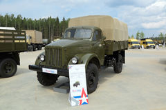 GAZ-63 truck Stock Image