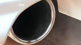 Gaz d'échappement de moteur à essence banque de vidéos