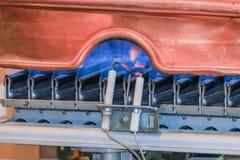 Gaz d'appareil de chauffage Photo libre de droits