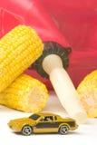 Gaz de maïs Images libres de droits