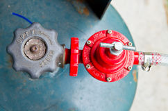 gaz de valve Image stock