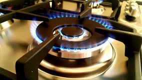 Gaz flame Royalty Free Stock Image