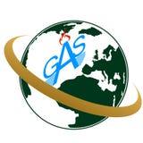 Gaz industry-1 d'icône Photos stock