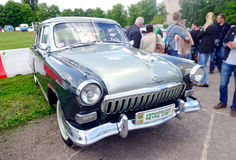 GAZ M21伏尔加河葡萄酒车的储蓄图象 免版税库存照片
