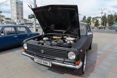 GAZ M24伏尔加河 免版税库存图片