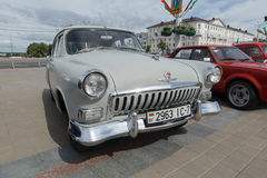GAZ M21伏尔加河 免版税图库摄影