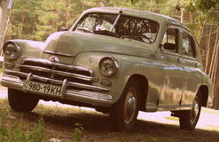 GAZ-M20 Pobeda Arkivbilder