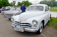GAZ M20 Pobeda vintage car - Stock image Royalty Free Stock Photos