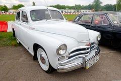 GAZ M20 Pobeda vintage car - Stock image Royalty Free Stock Photography