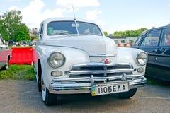 GAZ M20 Pobeda vintage car - Stock image Royalty Free Stock Images