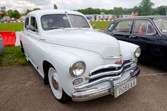 GAZ M20 Pobeda vintage car - Stock image Royalty Free Stock Image