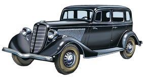 GAZ m 1 Soviet car symbol Royalty Free Stock Image