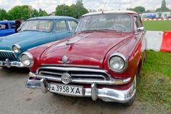 GAZ M21 Volga vintage car - Stock image Stock Photos