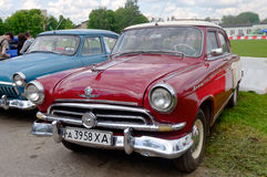 GAZ M21 Volga vintage car - Stock image Stock Photo