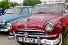 GAZ M21 Volga vintage car - Stock image Royalty Free Stock Photo