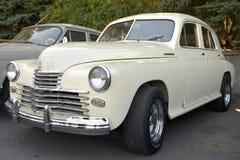 GAZ russian car Royalty Free Stock Image