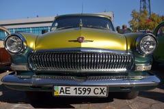 GAZ-ryssbil Royaltyfri Foto