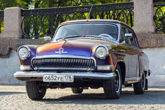 GAZ-21  on a street, , St. Petersburg, Russia Stock Photography