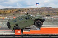 GAZ Tigr Royaltyfria Bilder