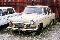 GAZ 21 Volga Fotografering för Bildbyråer