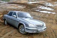 GAZ 31105 Volga Royaltyfri Fotografi