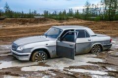 GAZ 31105 Volga Royaltyfri Foto