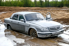 GAZ 31105 Volga Arkivbilder