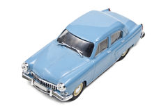 Gaz Volga M-21 I - 1958. Model of russian car on a white background, top view Stock Photo