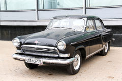 GAZ 21 Volga. MOSCOW, RUSSIA - MARCH 8, 2015: Motor car GAZ 21 Volga in the city street Stock Images