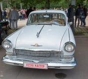 GAZ-21 Volga samochód na przedstawieniu inkasowi Retrofest samochody Zdjęcia Stock