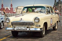 GAZ Volga (vintage car USSR) Stock Photography