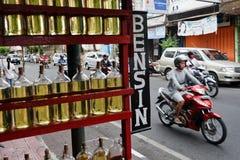 Gaz w butelce Zdjęcie Stock
