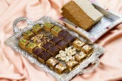 Gazak o Gajak dulce indio Fotos de archivo libres de regalías